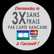 Paiement en 3x Sans Frais